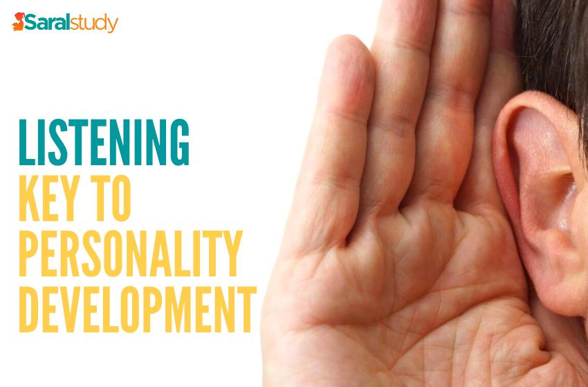 Listening Key To Personality Development
