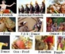 Food  Dance and Language of States of India