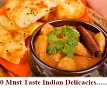 10 Must Taste Indian Delicacies