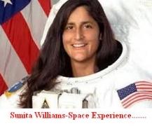 Sunita Williams,Space Experience