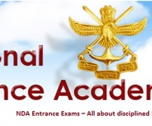 NDA Entrance Exams  All about disciplined Determination