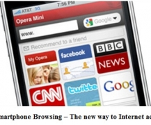 Smartphone Browsing  The new way to Internet access