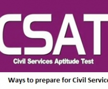 Ways to prepare for Civil Services