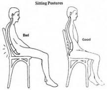 Sitting Posture - Comfort is Key