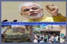 Demonetisation - whether it helps in controlling corruption and black money