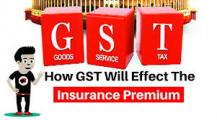 Impact of GST on life insurance policy premium amount