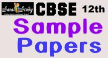 CBSE Physics Sample Paper Class 12th 2018