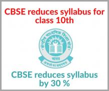 CBSE Class 10 Revised Syllabus 2020-21: Download New Syllabus