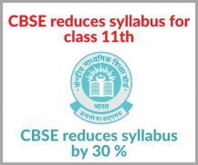 CBSE Class 11 Revised Syllabus 2020-21: Download New Syllabus
