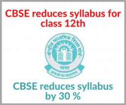 CBSE Class 12 Revised Syllabus 2020-21: Download New Syllabus