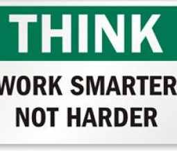 Working smart is always better than working hard